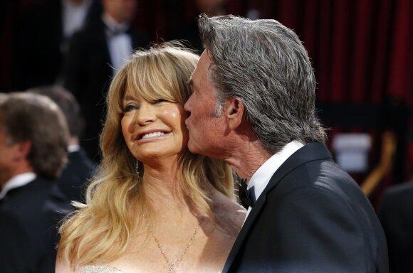 Goldie Hawn ir Kurtas Russellas