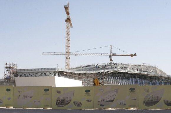 Rengiamasi 2022 metų pasaulio futbolo čempionatui Katare
