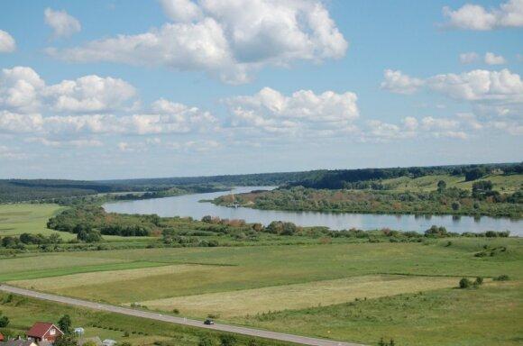Nemunas pro žalias erdves teka tik už Kauno