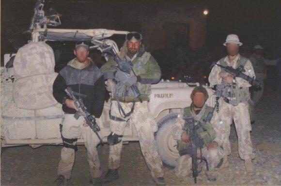 """""""Aitvaras"""" Afganistane (neuždengtu veidu - S. Guzevičius)"""