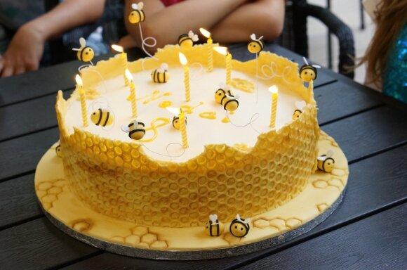 Dekoruotas tortas