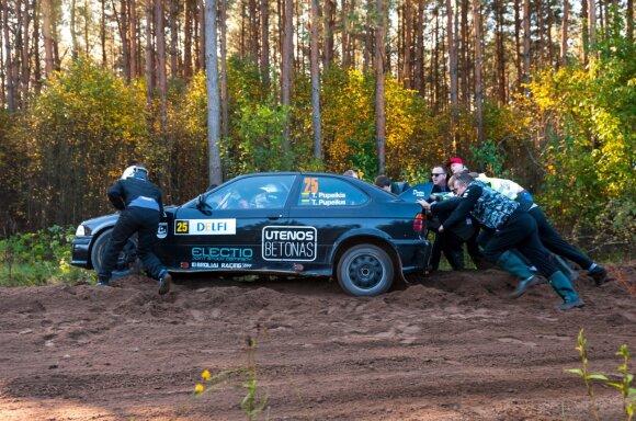 Lietuvos ralio čempionato finalas (V. Pilkausko nuotr.)
