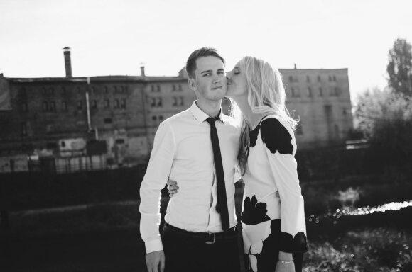 Nojus Berlinskas su mergina Dovile
