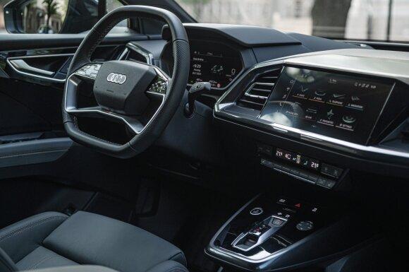 """""""Audi"""" ateities planas aiškus: nuo 2026 visi nauji modeliai bus tik elektriniai, 2033 vidaus degimo variklių nebegamins"""