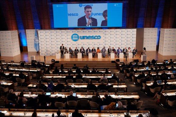 Paulius Serapinas UNESCO Generalinėje Konferencijoje