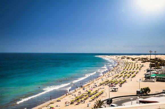 Maspalomas paplūdimys, Gran Kanarija