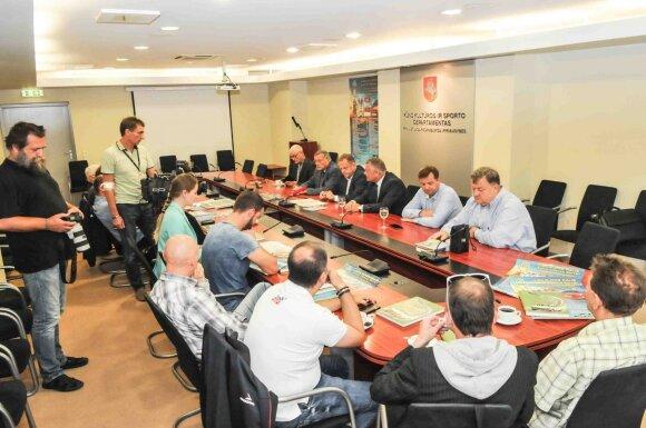 "Ralio ""Aplink Lietuva 2016"" spaudos konferencija"