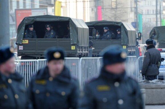 Maskvoje rengiamasi opozicijos mitingui