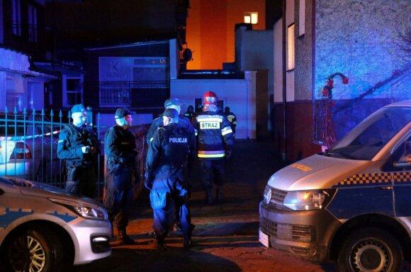 Lenkijoje pateikti kaltinimai vienam vyrui dėl penkių paauglių gyvybes nusinešusio gaisro