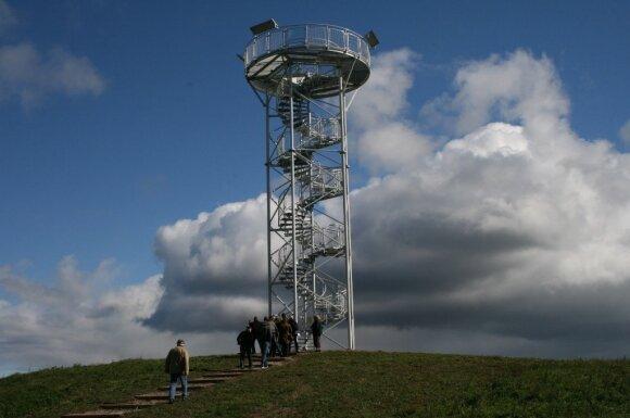 Apžvalgos bokštas Žemaitijos nacionaliniame parke