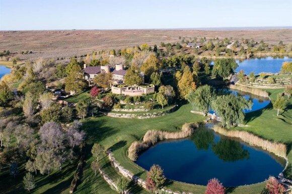 """Mesa Vista"" ranča (Chas S. Middleton and Son nuotr.)"