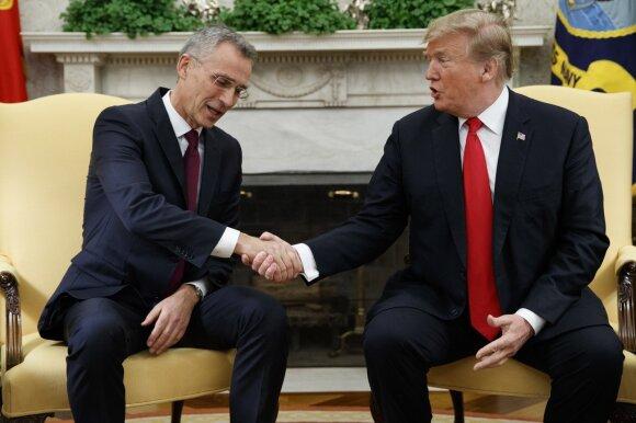 Jensas Stoltenbergas, Donaldas Trumpas