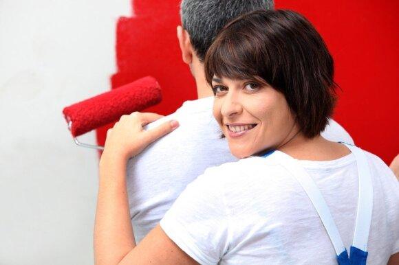 10 praktika paremtų patarimų, kokių klaidų vengti darant namuose remontą