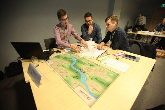 ISM studentai laimėjo tarptautinį hidroelektrinių valdymo konkursą