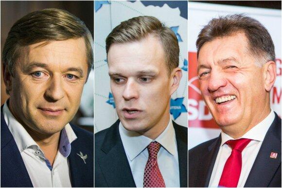 Предварительные результаты: консерваторы слегка опережают союз крестьян и зеленых