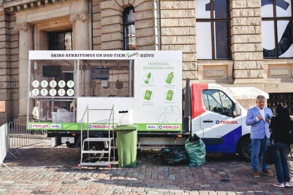 AI-based plastic deposit-refund systems created by Latvian companies