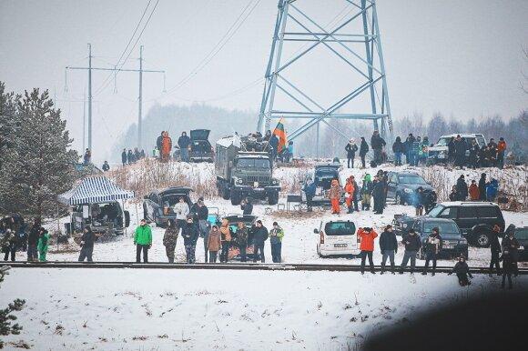 """""""Winter Rally"""" stebėjimas"""