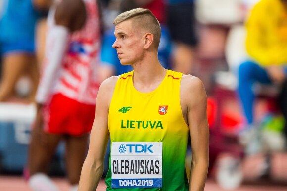 Pasaulio čempionato vyrų šuolių į aukštį kvalifikacija. Adrijus Glebauskas