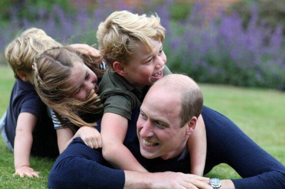 Princas Williamas su vaikais
