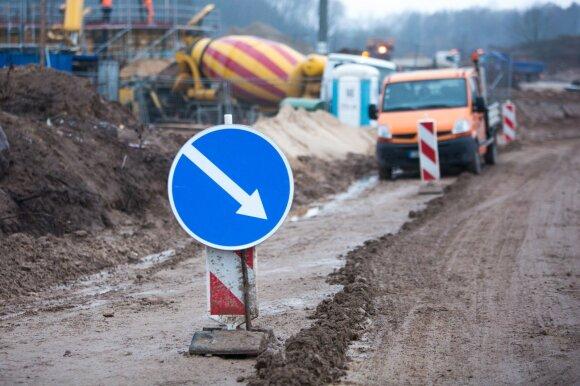 Įtampa dėl Vilniaus aplinkkelio statybų: laikas bėga, o pinigų vis dar nėra