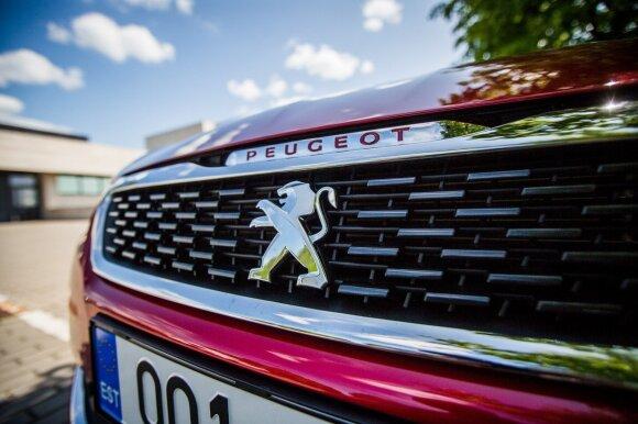 """""""Peugeot 308 GTi"""" mieste gali virsti ramiu """"kačiuku"""""""