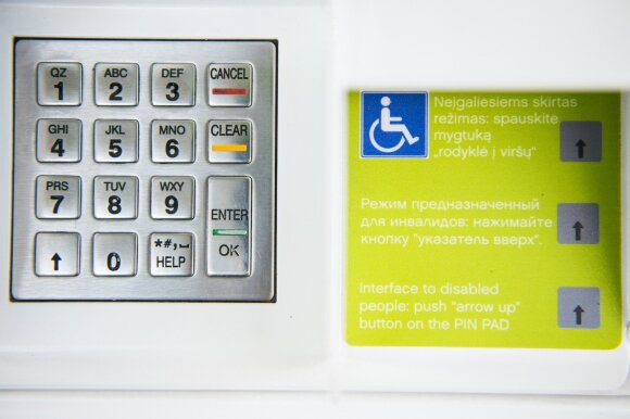 """""""Neste Lietuva"""" pritaikė degalines neįgaliesiems"""