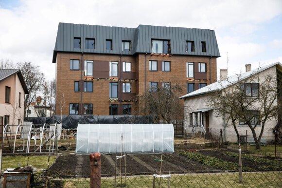 Keistenybė sostinėje: namą vilniečiams įpirkti jau lengviau nei butą
