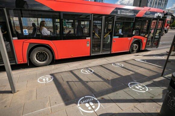 Vilniuje įvedamas karantinas: skelbia, kokie saugumo reikalavimai taikomi viešajame transporte