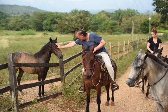 Ericos Jennings ir Jurgio Didžiulio šeimos atostogos Kolumbijoje