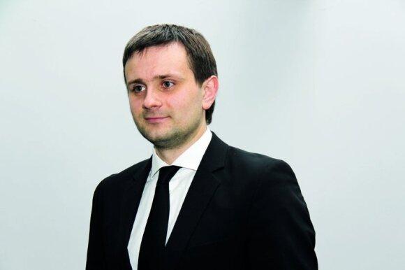 Kelių direkcijos Eismo saugumo skyriaus vedėjas Egidijus Skrodenis