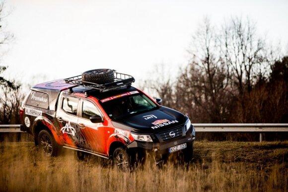 """Projektas """"iGo2Dakar"""" į Dakaro ralį antrus metus iš eilės keliauja su """"Nissan Navara"""""""