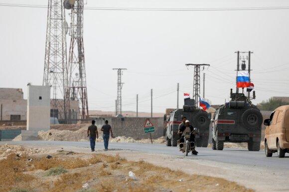 Sirijos vyriausybės armija įžengia į Manbidžą