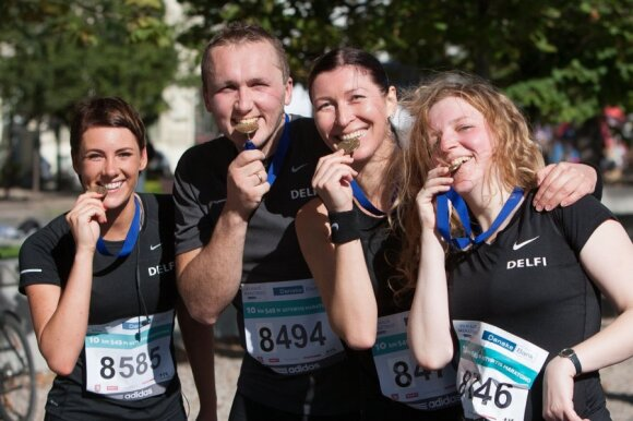 Победителями Вильнюсского марафона стали Винцкунас и украинка Булавинцева