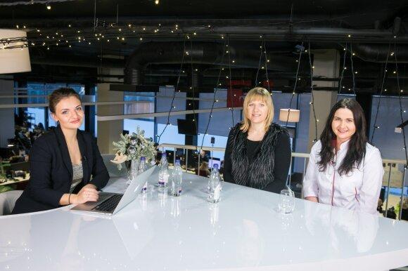 Kristina Ciparytė, Rūta Petereit, Laura Vanagaitė