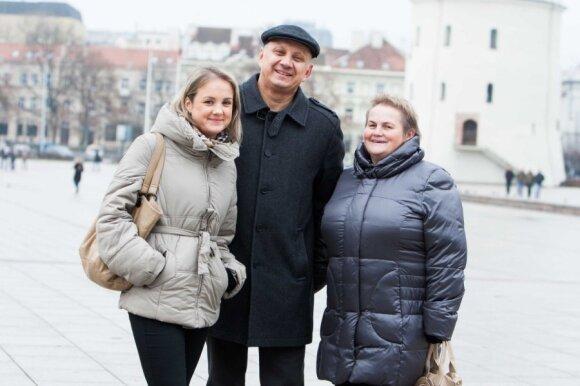 Ramunė Armonaitė su šeima