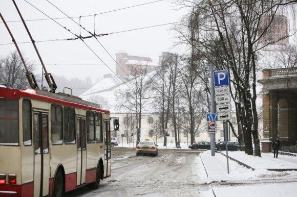 Per šventes keisis Vilniaus viešojo transporto grafikas