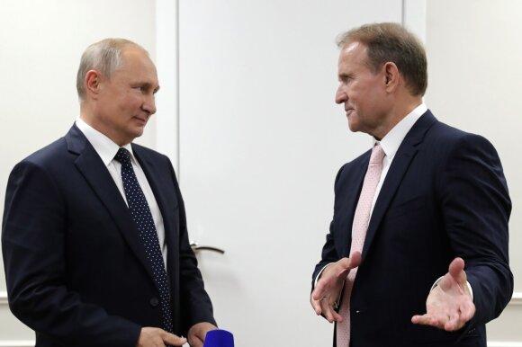 Vladimiras Putinas, Viktoras Medvedčiukas