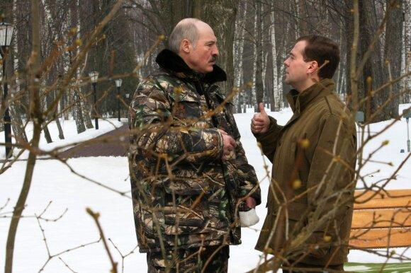 Aliaksandras Lukašenka, Dmitrijus Medvedevas 2009 metais