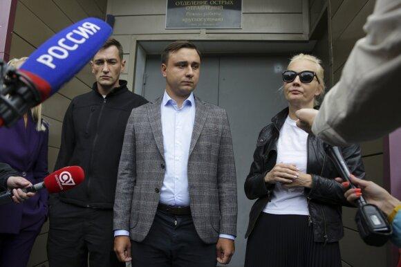 Олег Навальный, Иван Жданов, Юлия Навальная
