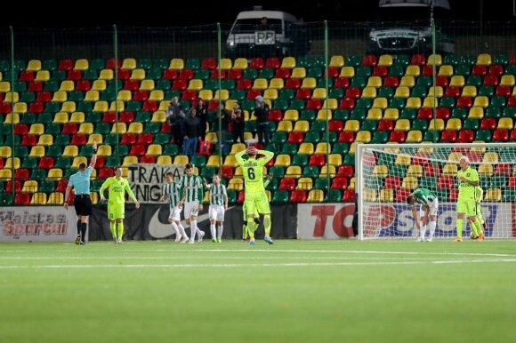 """Lietuvos futbolo A lyga: """"Žalgiris"""" - """"Trakai"""""""