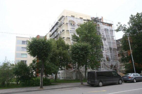 Ignalinoje šiuo metu vyksta sparti daugiabučių renovacija