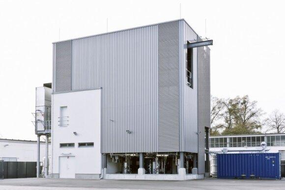 Audi diesel gamykla