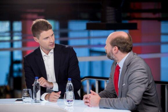 Mykolas Majauskas ir Kęstutis Sužiedėlis