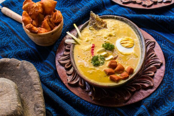 """""""Fanesca"""" menkių sriuba"""