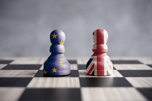 """ES derybininkas griežtai atmetė Theresos May """"Brexit"""" planą, derybos pakibo ant plauko"""