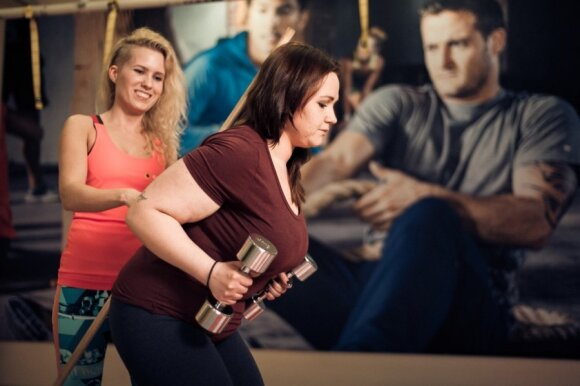 15 kg sporto klube palikusi Rūta: esu dar tik pusiaukelėje