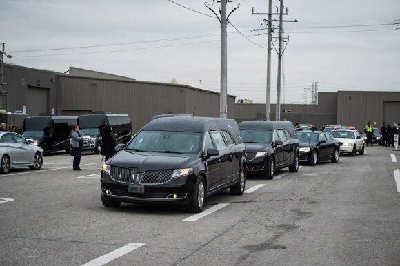 Shermanų laidotuvės