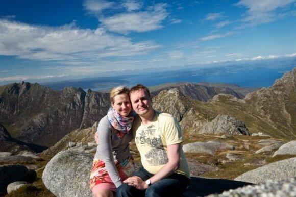 Christoph Pfeilstuecker ir Agnė Butautaitė
