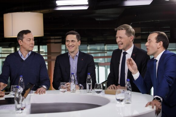 Artūras Zuokas, Dainius Kreivys, Remigijus Šimašius, Virginijus Sinkevičius