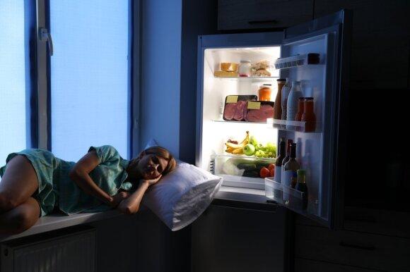 Maistas prieš miegą